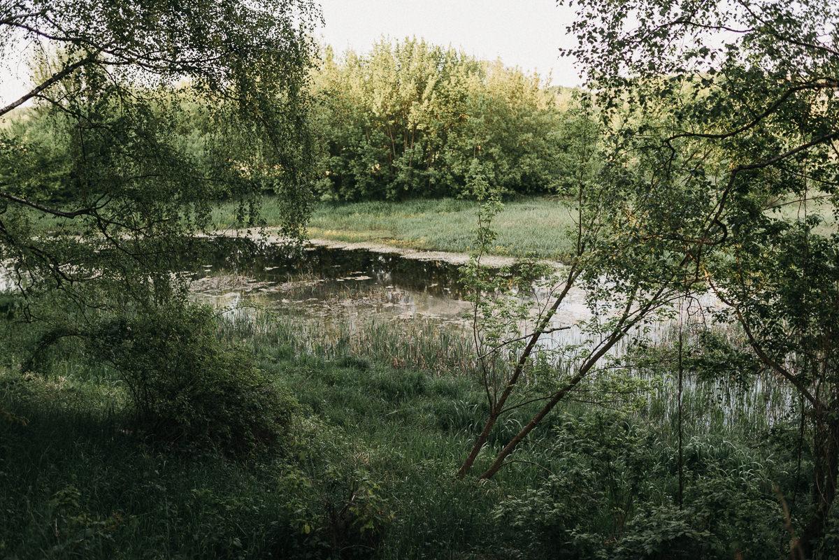 Zielone tereny nad Warta w Poznaniu