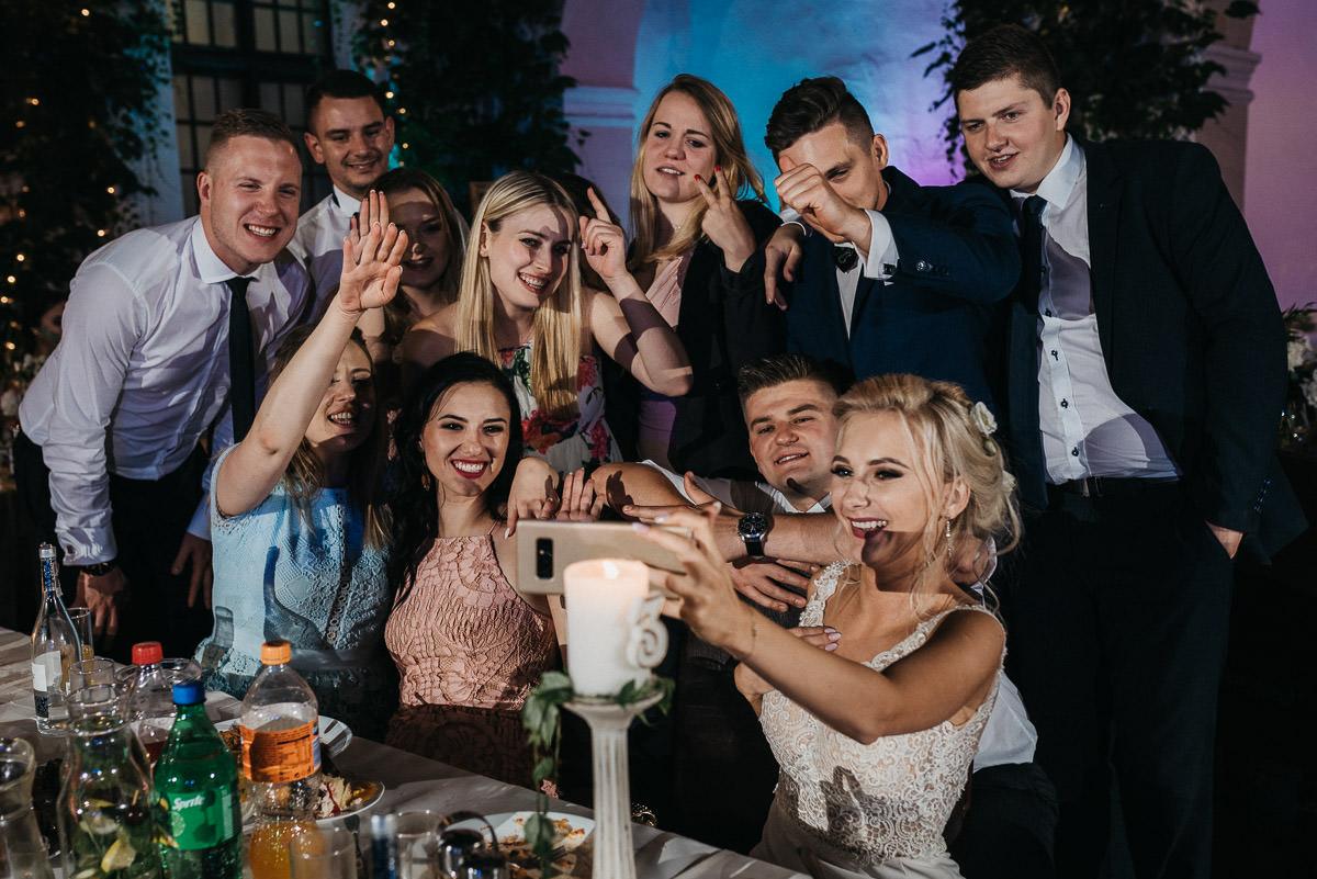 romantyczny ślub w Zamku Joannitów